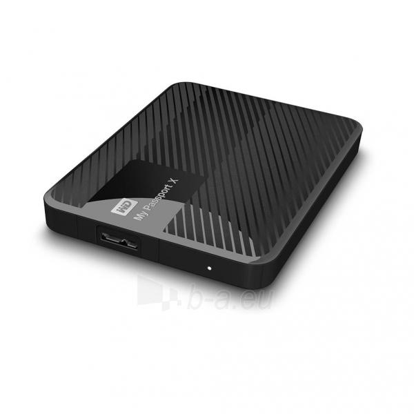 Išorinis Hard drive External HDD WD My Passport X 2.5 3TB USB 3.0 Black Paveikslėlis 4 iš 6 310820037451