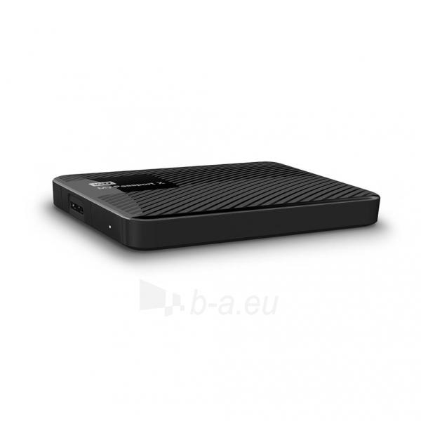 Išorinis Hard drive External HDD WD My Passport X 2.5 3TB USB 3.0 Black Paveikslėlis 5 iš 6 310820037451