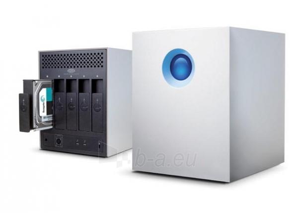 Išorinis kietasis diskas LaCie 5Big Thunderbolt2 20TB, 7200RP, 2xThunderbolt, RAID 0,5, JBOD Paveikslėlis 4 iš 4 310820037332