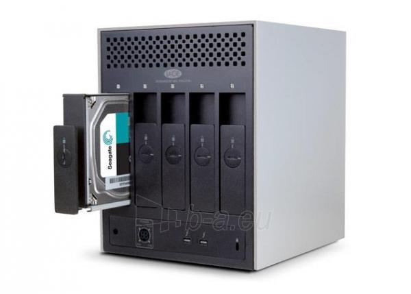 Išorinis Hard drive LaCie 5Big Thunderbolt2 30TB, 7200RP, 2xThunderbolt, RAID 0,5, JBOD Paveikslėlis 3 iš 4 310820037472
