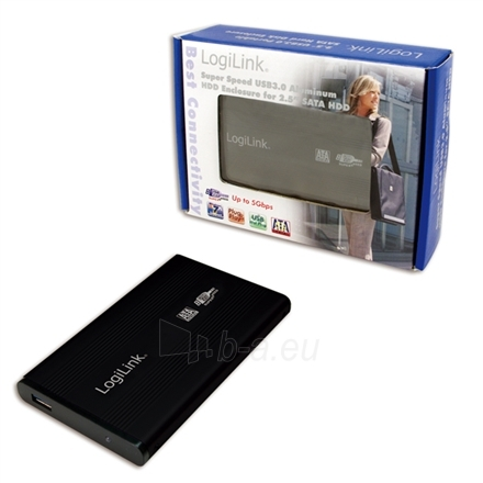 LOGILINK UA0106, 2.5 SATA drive case, USB 3.0 Paveikslėlis 1 iš 1 250255520245