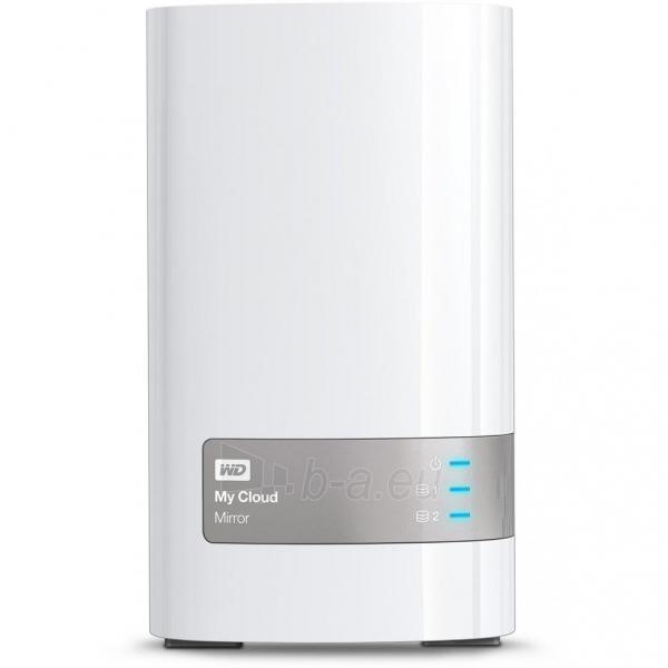Išorinis kietasis diskas NAS WD My Clud Mirror 8TB (2x4TB) LAN, RAID Paveikslėlis 1 iš 3 310820037364