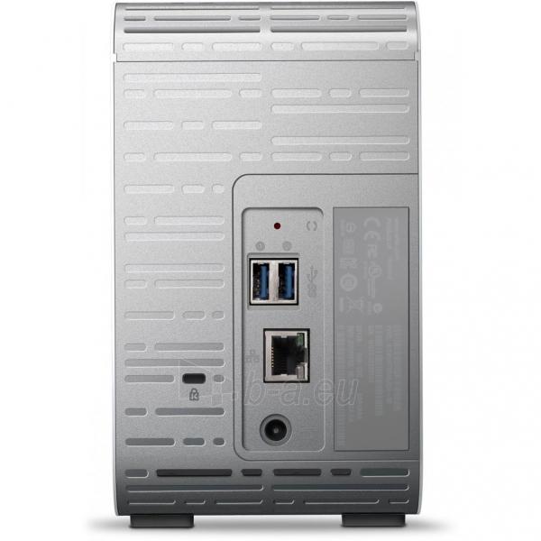 Išorinis kietasis diskas NAS WD My Clud Mirror 8TB (2x4TB) LAN, RAID Paveikslėlis 2 iš 3 310820037364