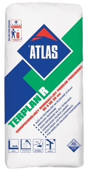 ATLAS TERPLAN R self-levelling cement based compound 25 kg Paveikslėlis 1 iš 1 236770000039