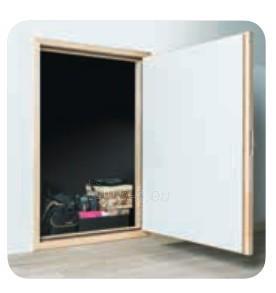 Itin geros termoizoliacijos karnizinės durys DWT 60x80 cm. Paveikslėlis 2 iš 4 310820038434