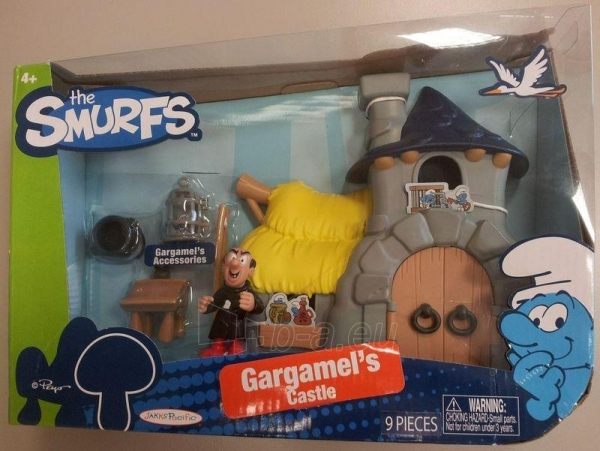 Jakks Smurfs Gargamels 56044 / 56045 Paveikslėlis 1 iš 1 250710900694
