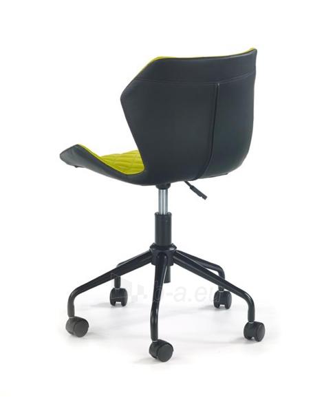 Jaunuolio kėdė MATRIX juoda/žalia Paveikslėlis 2 iš 3 310820195814
