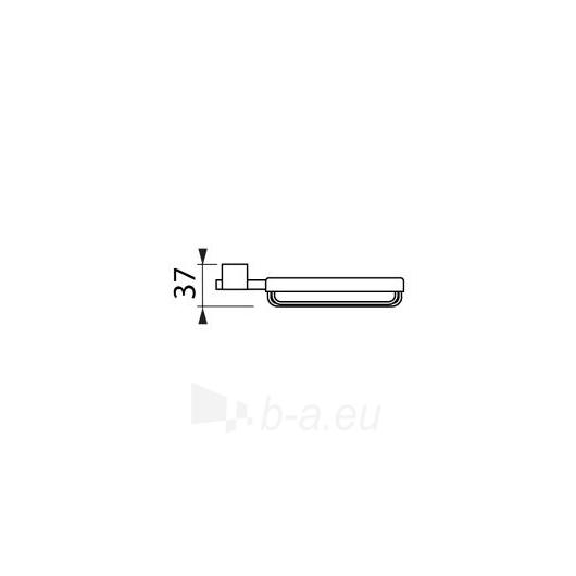 Jika Cubito chromuota muilinė su laikikliu Paveikslėlis 2 iš 3 270717000322