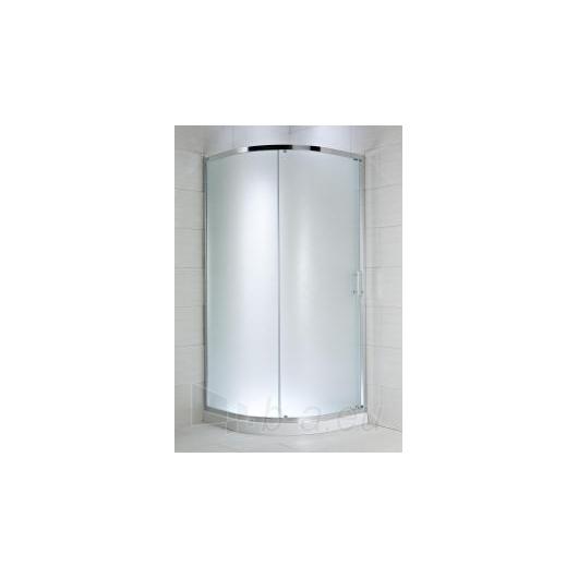 Jika Cubito Pure pusapvalė dušo kabina 90x90 L/R Paveikslėlis 1 iš 2 270730000728