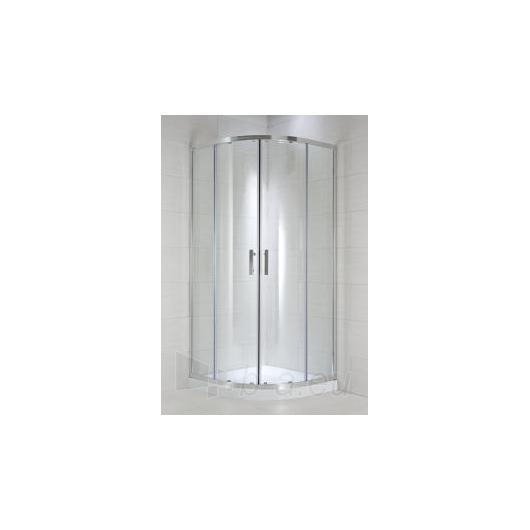 Jika Cubito Pure pusapvalė dušo kabina 90x90 Paveikslėlis 1 iš 2 270730000727