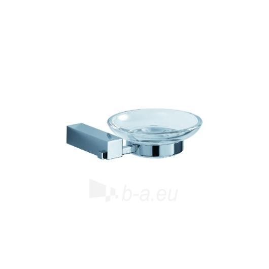 Jika Cubito stiklinė muilinė su laikikliu Paveikslėlis 1 iš 4 270717000324