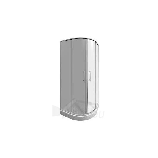 Jika Lyra plus pusapvalė dušo kabina 80x80 Paveikslėlis 2 iš 2 270730000729