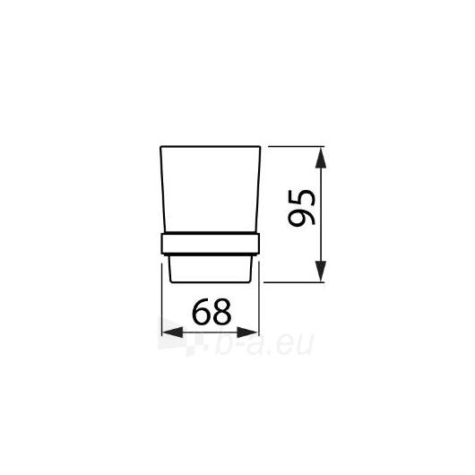 Jika Mio stiklinė su laikikliu Paveikslėlis 2 iš 3 270717000354