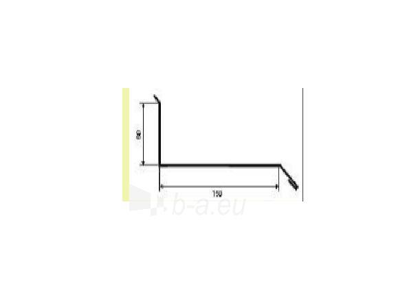 Jungtis su siena 150x60 mm, plytų imitacija Paveikslėlis 1 iš 2 310820038680