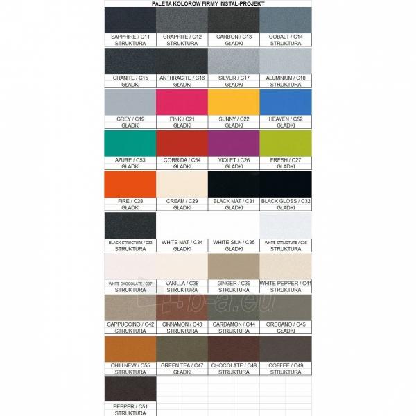 Juodojo metalo gyvatukas CODE, COD-50/60 C17 Paveikslėlis 2 iš 2 310820163614