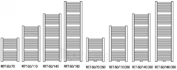 Juodojo metalo gyvatukas RETTO, RET-50/70 C26 Paveikslėlis 2 iš 3 310820163617