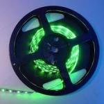 Juosta LED 4,8W, IP65, žalia, 60LED-240lm/m, 24W/5m, SMD3528, 50000h, 4205 Paveikslėlis 1 iš 1 310820055836