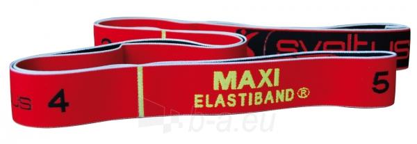 Juosta mankštai Sveltus ELASTIBAND MAXI 10kg, raudona Paveikslėlis 1 iš 1 310820040344