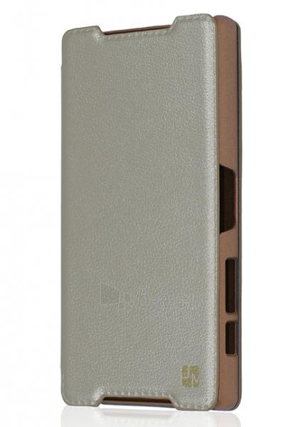 Just Must Flip case Elegant II for Z5  (Gold) Paveikslėlis 1 iš 4 250232002968