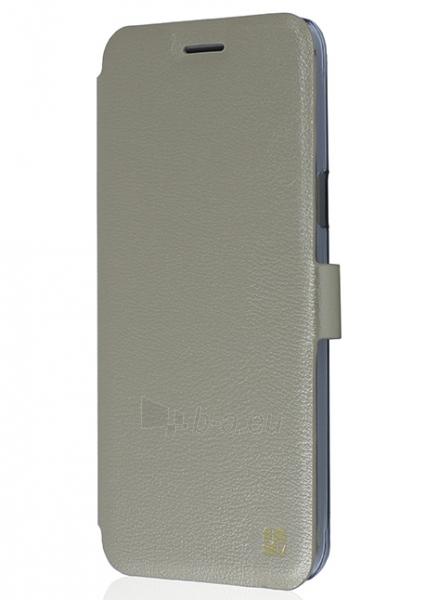 Just Must Flip case Slim for Samsung Galaxy J3 J320 (Gold) Paveikslėlis 1 iš 4 250232002990