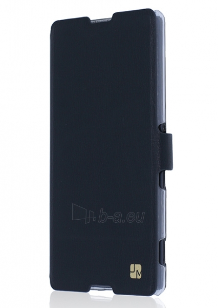 Just Must Flip case Slim for Xperia M5 (Black) Paveikslėlis 1 iš 3 250232002997