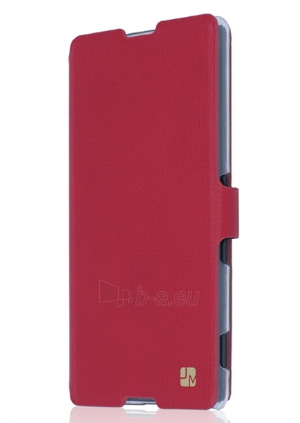 Just Must Flip case Slim for Xperia M5 (Red) Paveikslėlis 1 iš 3 250232002999