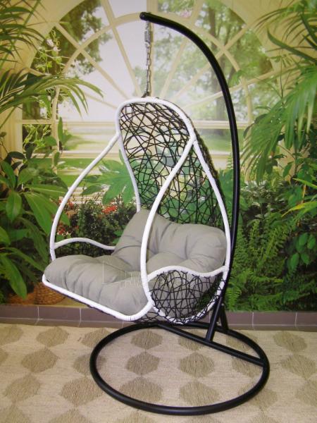Kabanti kėdė juoda ETP-DL40 Paveikslėlis 1 iš 8 310820136610