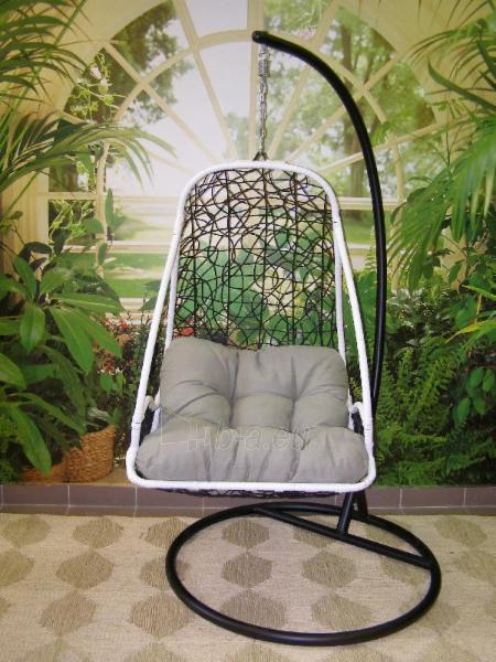 Kabanti kėdė juoda ETP-DL40 Paveikslėlis 7 iš 8 310820136610
