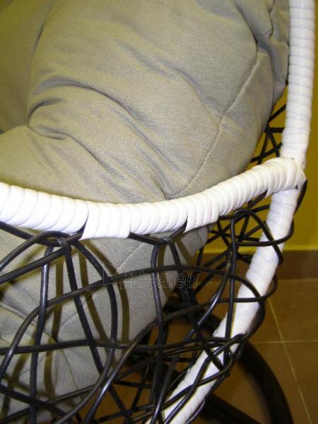 Kabanti kėdė juoda ETP-DL40 Paveikslėlis 8 iš 8 310820136610