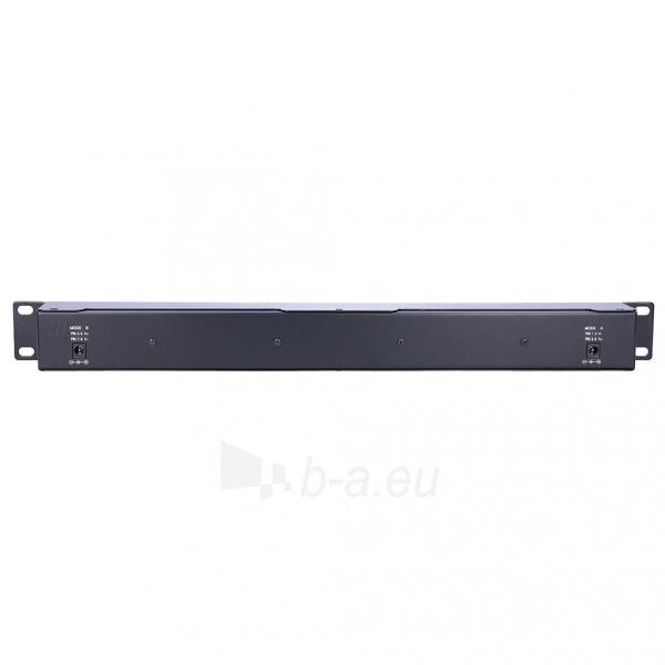 Kabelis EXTRALINK 16 Port Passive or 802.3af/at PoE Injector 1 GbE 18v~57v DC Rack 19 Paveikslėlis 2 iš 2 310820094464