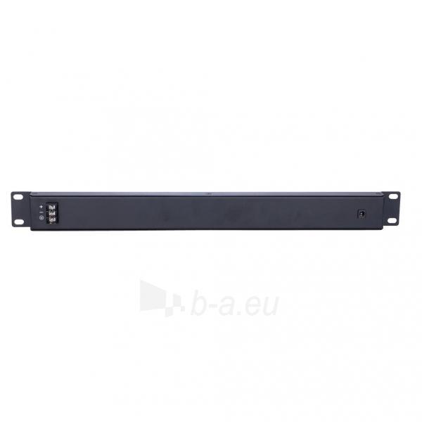 Kabelis EXTRALINK 16 Port Passive PoE Injector / Adapter 10/100Mbps 12v~48v DC Rack 19 Paveikslėlis 2 iš 3 310820094485