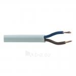 Kabelis OMYp 2x0,5mm2, varinis lankstus plokščias baltas (H03VVH2-F) (M), 100m Paveikslėlis 1 iš 1 222822000217