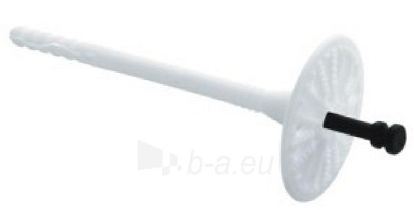 Kaištis šilumos izoliatorius 10x120 su plastikine vinimi (LTX) 200vnt. Paveikslėlis 2 iš 2 236233000024