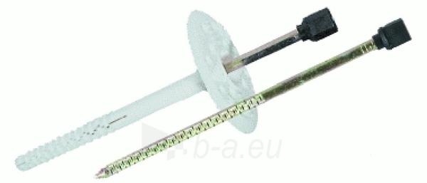 Kaištis šilumos izoliatorius 10x200 su metalinia vinimi 200 vnt. Paveikslėlis 2 iš 2 236234000028