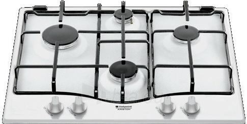 Cooktop Hotpoint ARISTON PC 640 T (WH)/HA EE Paveikslėlis 1 iš 1 310820012458