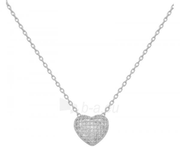 neck jewelry Beneto se srdcem AGS189/45 Paveikslėlis 1 iš 2 310820002259