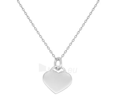 neck jewelry Beneto se srdíčkem AGS241/45 Paveikslėlis 1 iš 1 310820002277