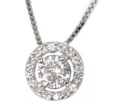 neck jewelry Beneto Stříbrný náhrdelník s přívěskem AGS87/45 Paveikslėlis 1 iš 1 30070301743