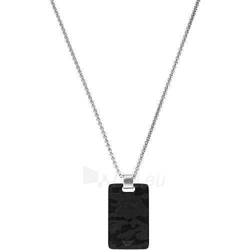 neck jewelry Emporio Armani Ocelový náhrdelník pro muže EGS1946040 Paveikslėlis 1 iš 1 30070301826