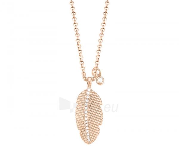 neck jewelry Esprit Bronzový náhrdelník se zirkony Feather ESPRIT-JW50222 ROSE Paveikslėlis 1 iš 1 310820001754
