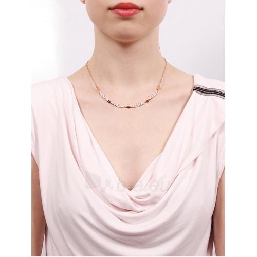 neck jewelry Fossil Originální s krystaly JF02018791 Paveikslėlis 2 iš 2 310820001514