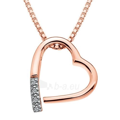 Kaklo papuošalas Hot Diamonds Náhrdelník Hot Diamonds Just Add Love Memories Rose Gold DP519 Paveikslėlis 1 iš 1 310820001009