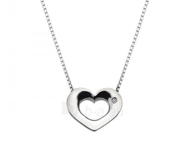 Kaklo papuošalas Hot Diamonds Stříbrný Hot Diamonds Emerge Heart DP584 Paveikslėlis 1 iš 1 310820001014