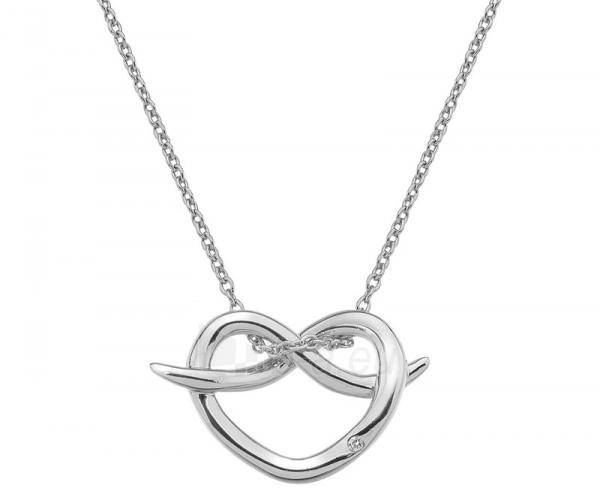 Kaklo papuošalas Hot Diamonds Stříbrný Hot Diamonds Infinity Heart DP604 Paveikslėlis 1 iš 3 310820001766