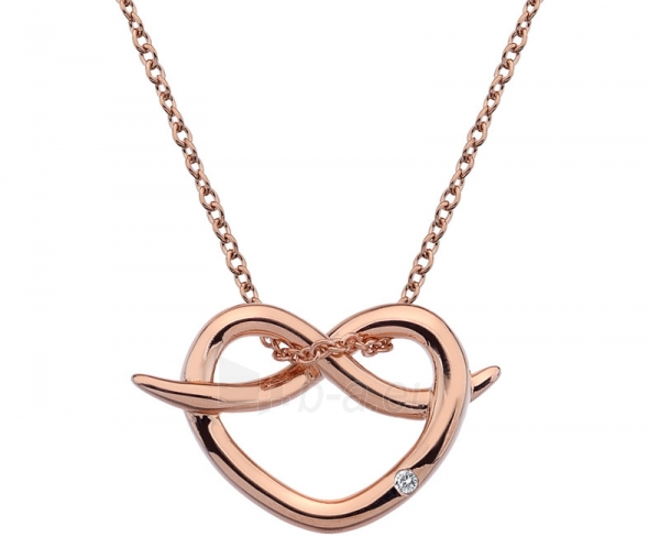neck jewelry Hot Diamonds Stříbrný Hot Diamonds Infinity Heart Rose Gold DP605 Paveikslėlis 1 iš 3 310820001765