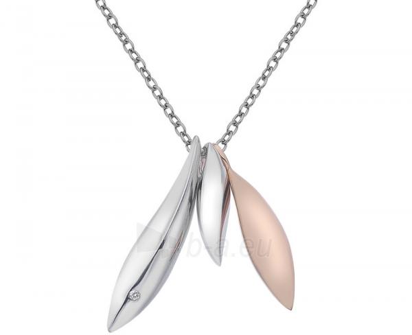 Kaklo papuošalas Hot Diamonds Stříbrný Hot Diamonds Leaf Triple DP610 Paveikslėlis 1 iš 2 310820001762