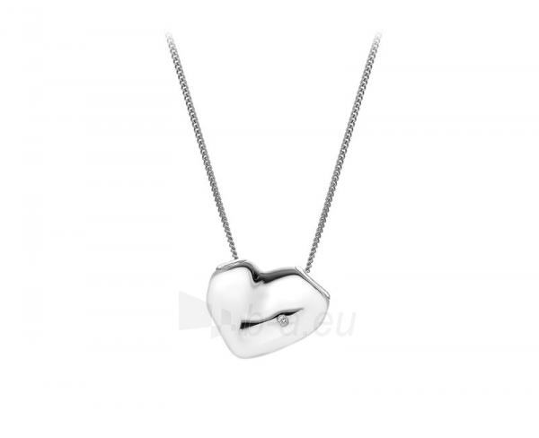 Kaklo papuošalas Hot Diamonds Stříbrný Hot Diamonds Lunar Heart DP575 Paveikslėlis 1 iš 1 310820001010