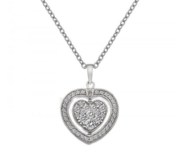 Kaklo papuošalas Hot Diamonds Stříbrný Hot Diamonds Turning Heart DP606 Paveikslėlis 1 iš 9 310820001727