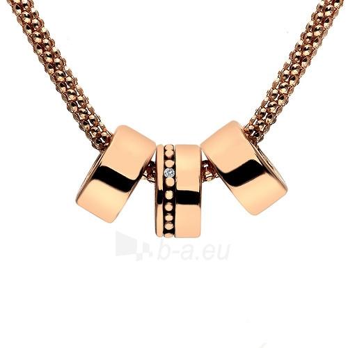 Kaklo papuošalas Hot Diamonds Stříbrný náhrdelník Hot Diamonds Trio Statement Rose Gold Small DP552 Paveikslėlis 1 iš 1 310820000969
