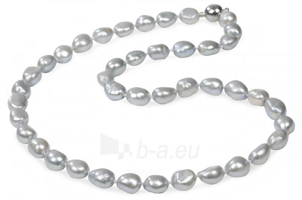 Kaklo papuošalas JwL Luxury Pearls A necklace of pearls šedostříbrných JL0067 Paveikslėlis 1 iš 2 310820126342